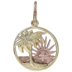 Cartier Gold Palm Tree Charm