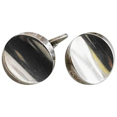 Georg Jensen Sterling Silver Cufflinks No 107