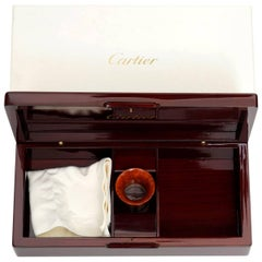 Cartier Jewelry and Watch Wooded Box