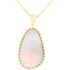10 Carat Opal Pendant