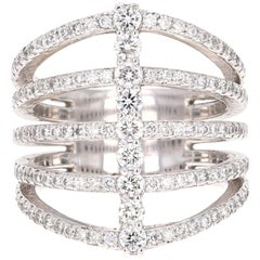 1.39 Carat Diamond Cocktail Ring