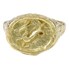 Tiffany & Co. Capricorn Gold Ring