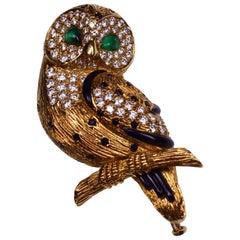 Van Cleef & Arpels Owl Brooch