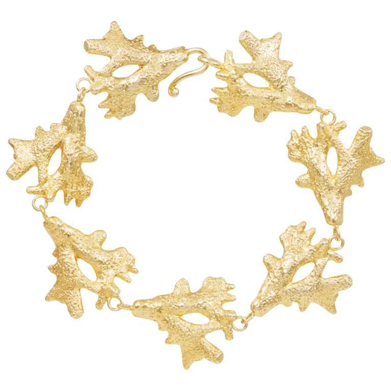Silver Gold Vermeil Bangle Bracelet