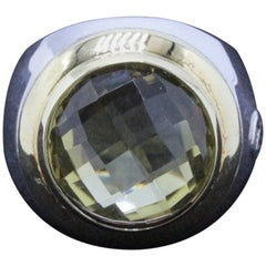 David Yurman Champagne Citrine Cerise Ring in Sterling Silver