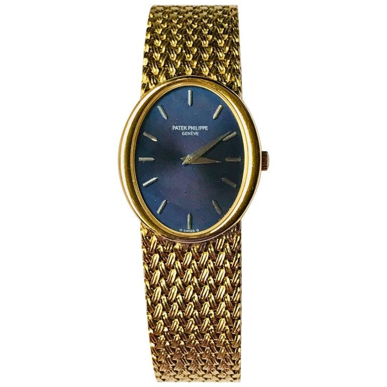 Patek Philippe Ladies Yellow Gold Ellipse Manual wind Wristwatch