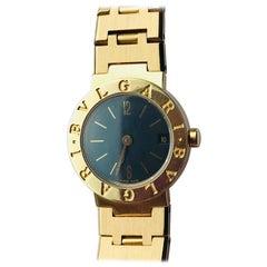 Bulgari Ladies Yellow Gold Quartz Wristwatch