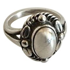 Georg Jensen Sterling Silver Ring No 1A