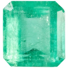 LFG Certified 11.78 carats Colombian Emerald