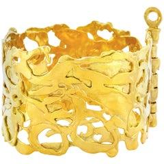 Jean Mahie Organo Chic Gold Bracelet
