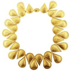 Lalaounis Neoclassical 18 Karat Collar Necklace