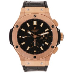 Hublot Rose Gold Big Bang self-winding Wristwatch