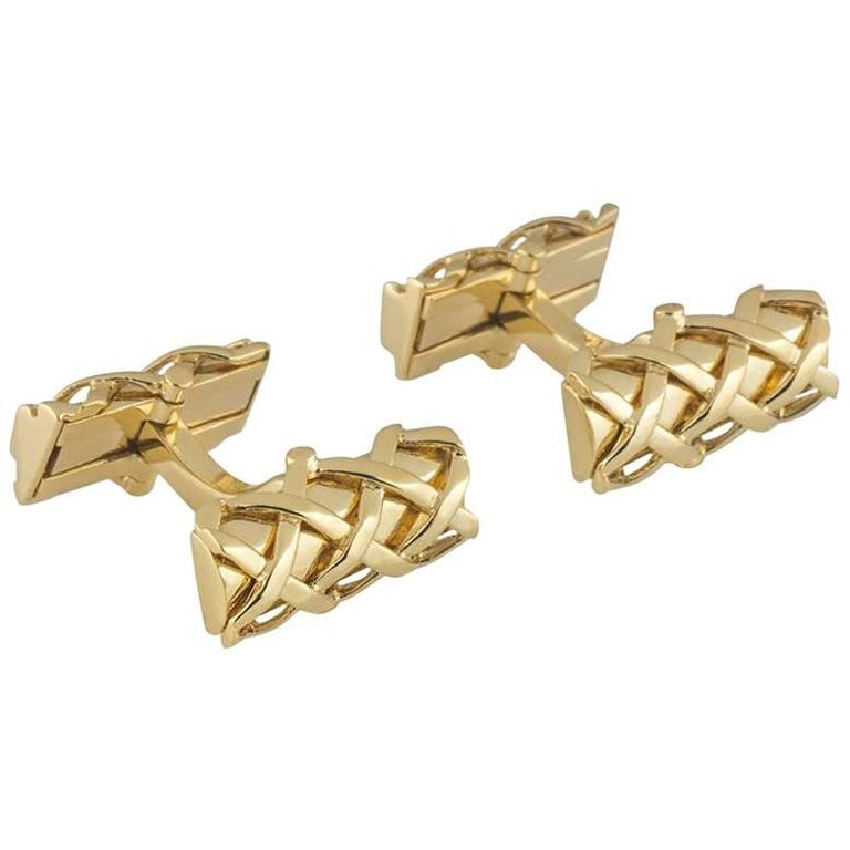 Tiffany & Co. Yellow Gold Cufflinks