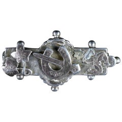 Antique Victorian Horseshoe Brooch, circa 1900