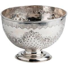 Fine Sterling Silver Bowl, Hunt & Roskell, 1905-1906, London