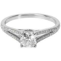 Tiffany & Co. Lucida Diamond Engagement Ring in Platinum 0.67 Carat