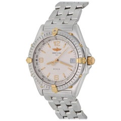 Breitling Stainless Steel Wind Rider Wings Automatic Wristwatch