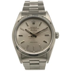 Rolex Stainless Steel Air King Oyster Bracelet Wristwatch, circa 1990