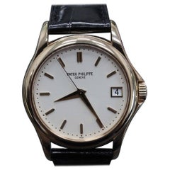 Patek Philippe 5127R Calatrava 18 Karat Rose Gold like New Box and Papers