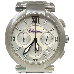 Chopard Imperiale Mother-of-Pearl Chronograph Stainless Ladies Watch 388549-3002