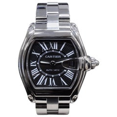 Cartier Roadster 2510 Large Size Stainless Steel with Box and Papers