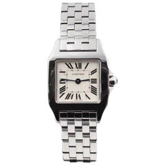 Cartier Santos Demoiselle 2698 Ladies Stainless Steel Box and Papers