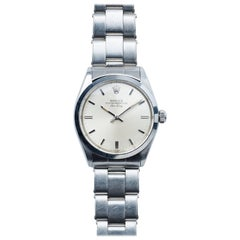 Rolex Stainless Steel Oyster Perpetual Vintage Air-King Wristwatch