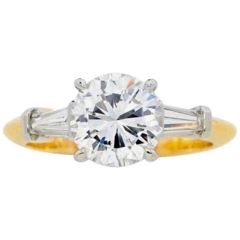 2.02 Carat Tiffany & Co. Diamond Ring