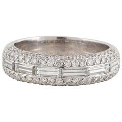 18 Karat Diamond Band Ring