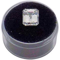GIA Certified Emerald Cut Diamond