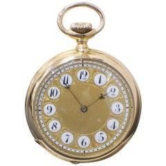 Patek Philippe 18 Karat Rose Gold Pocket Watch No.89578 Very Rare, circa 1893