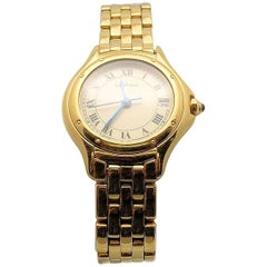 Cartier Ladies Yellow Gold Cougar Quartz Wristwatch