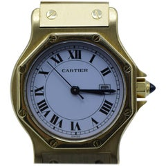 Cartier, 18 Karat Gold Link Watch