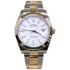 2017 Rolex Datejust II 126303 18 Karat Yellow Gold and Stainless Steel