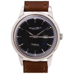 IWC Stainless Steel Ingenieur Automatic Wristwatch Ref 666 AD, circa 1960s