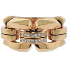 Chimento Diamond Rose Gold Ring