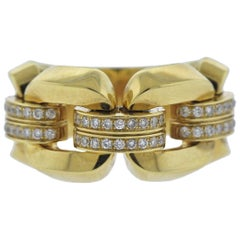 Chimento Diamond Yellow Gold Ring