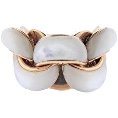 Chimento Mother-of-Pearl Gold Ring