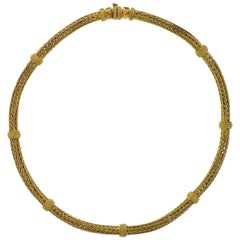 Zolotas Greece Gold Necklace