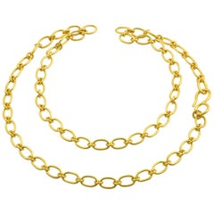 Loren Nicole Classic Gold Cable Chain Necklace