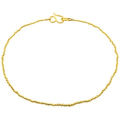 Loren Nicole Classic Solid Gold Bead Necklace