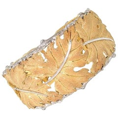 M. Buccellati Leaf Cuff Bracelet