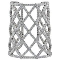 Boucheron Diamond Dalila Cuff Bracelet