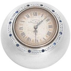 E. Dreyfous Dome Shaped Desk Clock