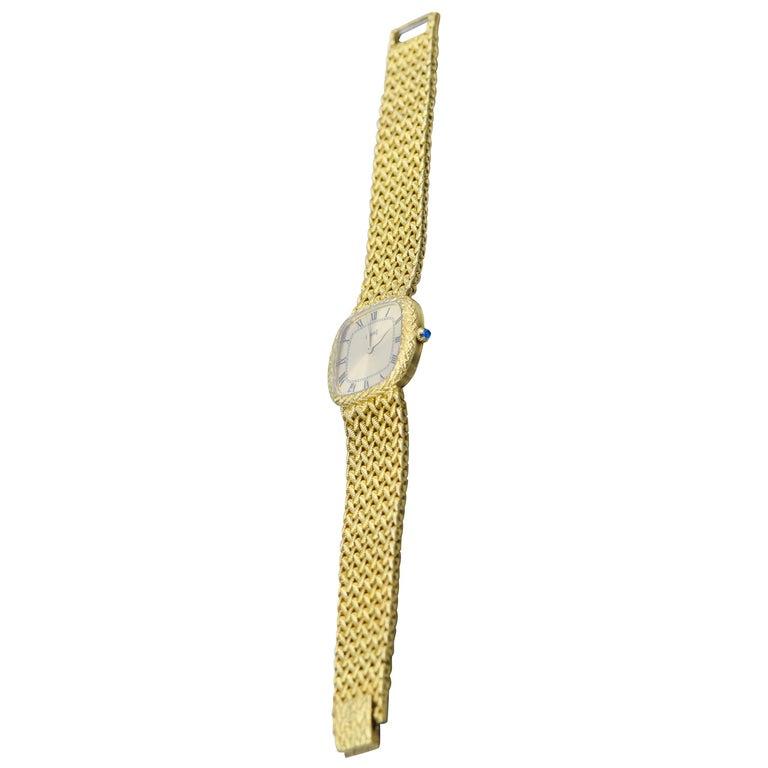 Piaget Ladies Yellow Gold Wristwatch