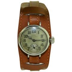 Illinois Sportsman 1910 Nickel Silver Watch