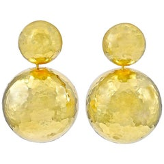 Paloma Picasso Tiffany & Co. Gold Drop Earrings