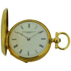 Patek Philippe Ladies 18 Karat Gold Pendant Watch with Archival Document