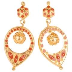 800/1000 Gold and Enamel Antique Pendants
