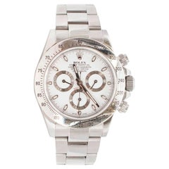 Rolex Stainless Steel Cosmograph Daytona Automatic Wristwatch